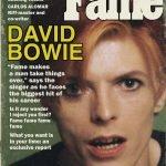 Fame odd Alcott Fumetti Vintage Bowie e i fumetti