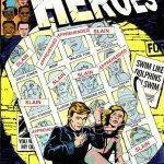 Heroes odd Alcott Fumetti Vintage Bowie e i fumetti