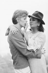 Bowie Liz Taylor Terry O'neill Icons Eventi tributo a bowie agosto 2019