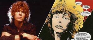 Neil Gaiman Bowie e i fumetti