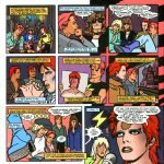 5 #4 Red Rocket 7 Michael Allred Bowie e i fumetti