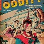 Space Oddity odd Alcott Fumetti Vintage Bowie e i fumetti
