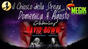 Ultimarata Bottai Eventi tributo a Bowie agosto 2019