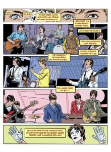 3 Stardust Rayguns & Moonage Daydreams Michael Allred biografia Bowie e i fumetti