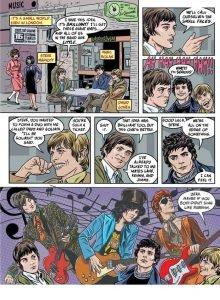 4 Stardust Rayguns & Moonage Daydreams Michael Allred biografia Bowie e i fumetti