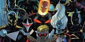 Nuovi Guardiani della Galassia Starship Bowie e i fumetti