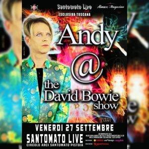 andy david bowie show appuntamenti tributo settembre 2019