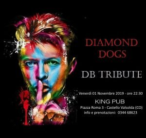 Diamond Dogs Castello Valsolda eventi novembre 2019 David Bowie