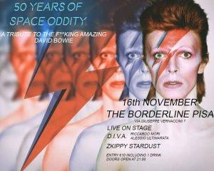 Zkippy Stardust Pisa Eventi novembre 2019 David Bowie