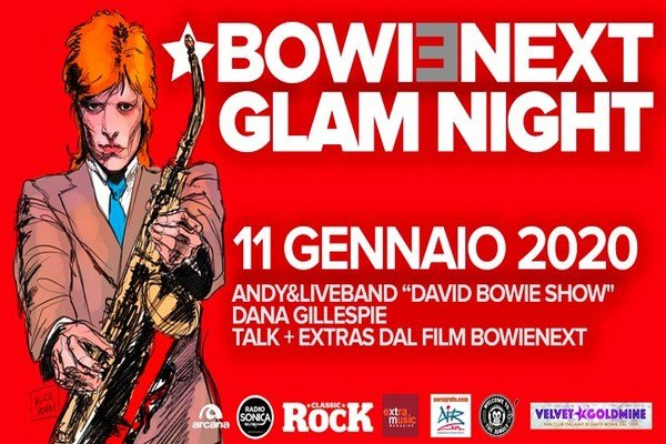 David Bowie Glam Night l'11 Gennaio 2