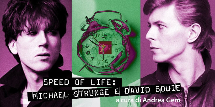 VG artwork Michael Strunge David Bowie speciale Speed of Life