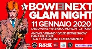 David Bowie Glam Night l'11 Gennaio 26