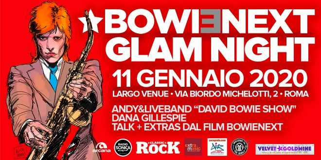 David Bowie Glam Night l'11 Gennaio 1