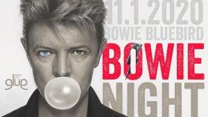 Bowie Bluebird Glue eventi gennaio 2020 David Bowie
