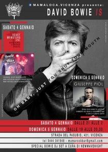 David Bowie is Vicenza eventi gennaio 2020