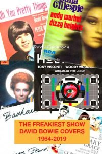 The Freakiest Show: David Bowie Cover Versions 1964-2019 Dave Thompson libri 2019