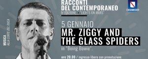Mr Ziggy & the Glass Spiders Stardust Bowie by Sukita eventi gennaio 2020 David Bowie