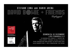 Scary Monsters Buscate eventi dicembre 2019 David Bowie