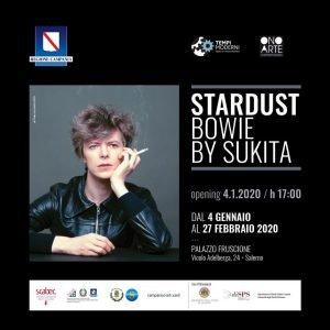 Stardust Bowie by Sukita Salerno Eventi gennaio 2020 David Bowie