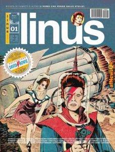 Copertina Linus rivista fumetti David Bowie Gennaio 2020