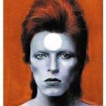 Illustrazione di Andrea Serio Linus Rivista Fumetti David Bowie