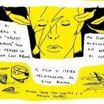Illustrazione Fumetti Brutti (J.Y.Signorelli) Linus rivista fumetti David Bowie