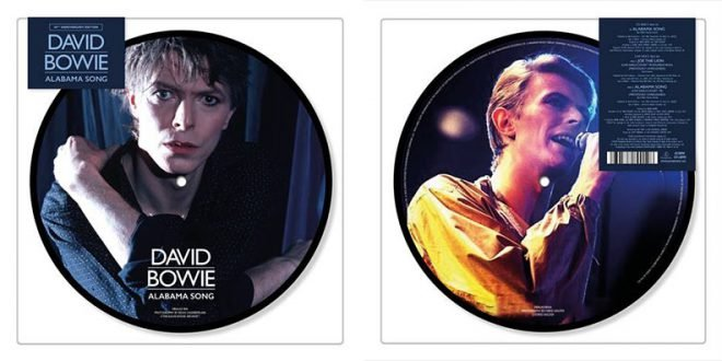 Alabama Song Picture Disc David Bowie 40° limited edition