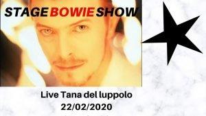 Stage Bowie Udine Eventi Febbraio 2020 David Bowie Tributo