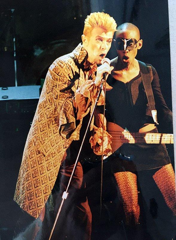 Foto 4 di Cosimo Stassano David Bowie a Sanremo 1997
