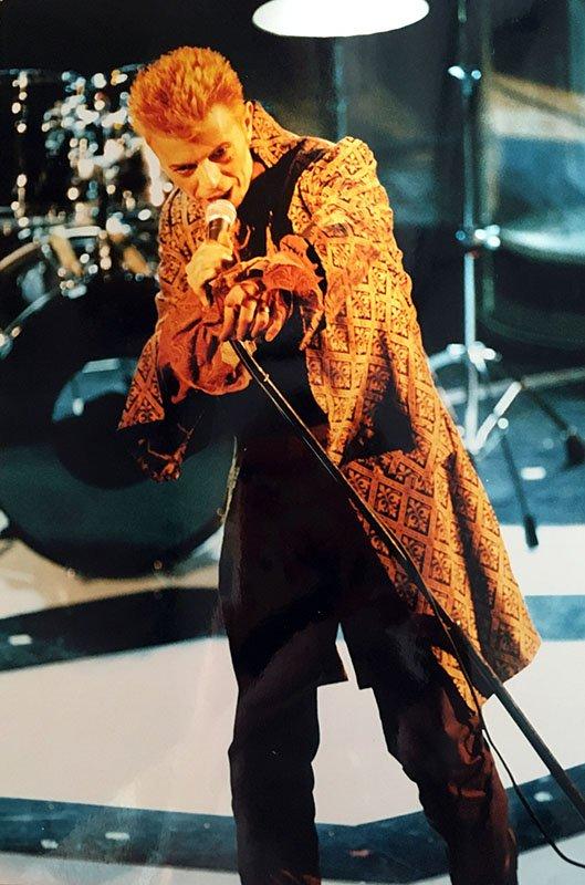 Foto 2 di Cosimo Stassano David Bowie a Sanremo 1997