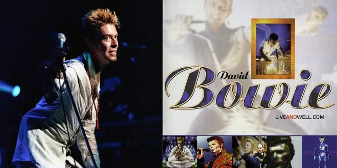 David Bowie liveandwell live and well header