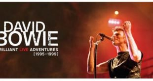 David Bowie Brilliant Live Adventures Cofanetto Box testata