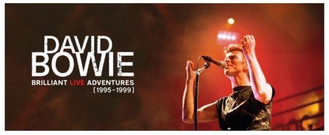 David Bowie Brilliant Live Adventures Cofanetto Box testata