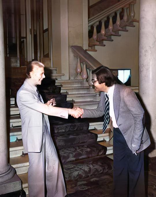 David Bowie a Genova 1976 1