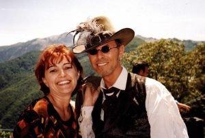 """INCONTRI - Sul set del film """"Il mio West"""" giugno 1998 1"""