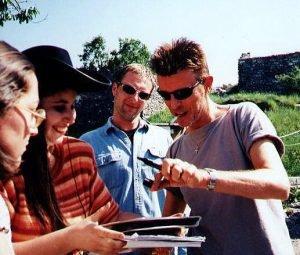 """INCONTRI - Sul set del film """"Il mio West"""" giugno 1998 9"""