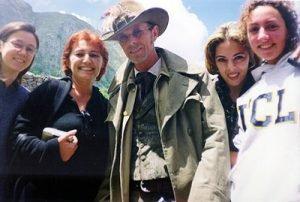 """INCONTRI - Sul set del film """"Il mio West"""" giugno 1998 11"""