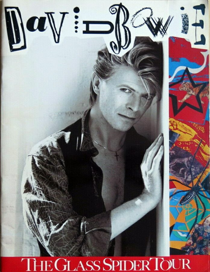Bowie Glass Spider Firenze 9 giugno 1987 Tour Program 1
