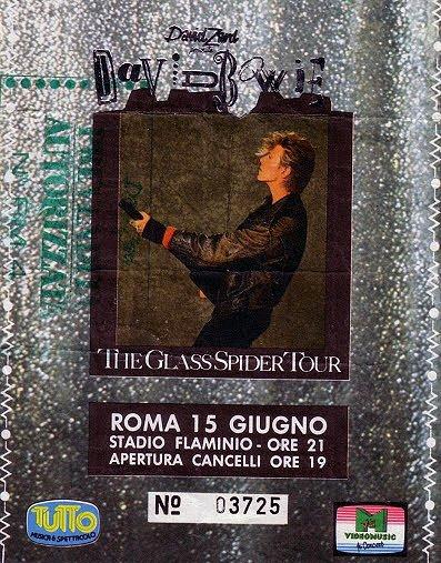 Glass Spider Tour - Roma 15 Giugno 1