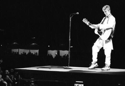David Bowie Earthling Tour Napoli 10 Luglio 1997 bagnoli foto 2