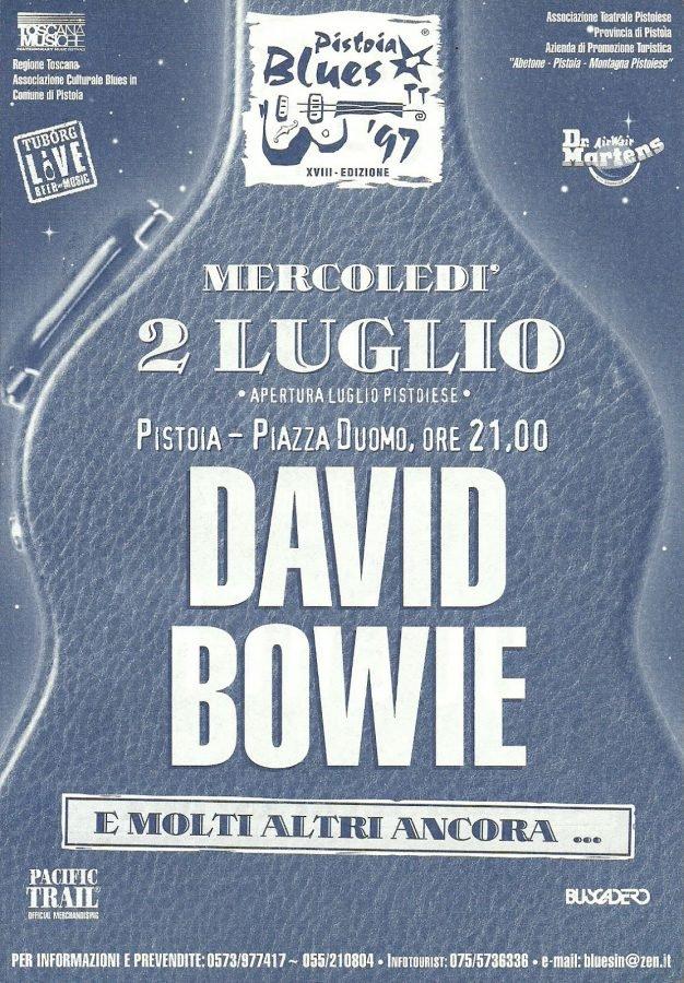 Earthling Tour - Pistoia, 2 Luglio 1997 2