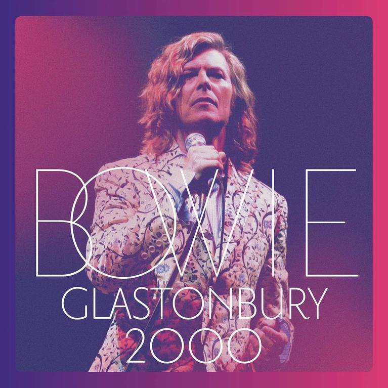 David Bowie Glastonbury 2000 box