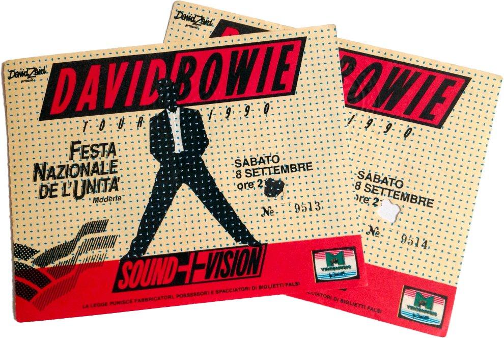 Sound and Vision Tour - Modena, 8 Settembre 1990 1