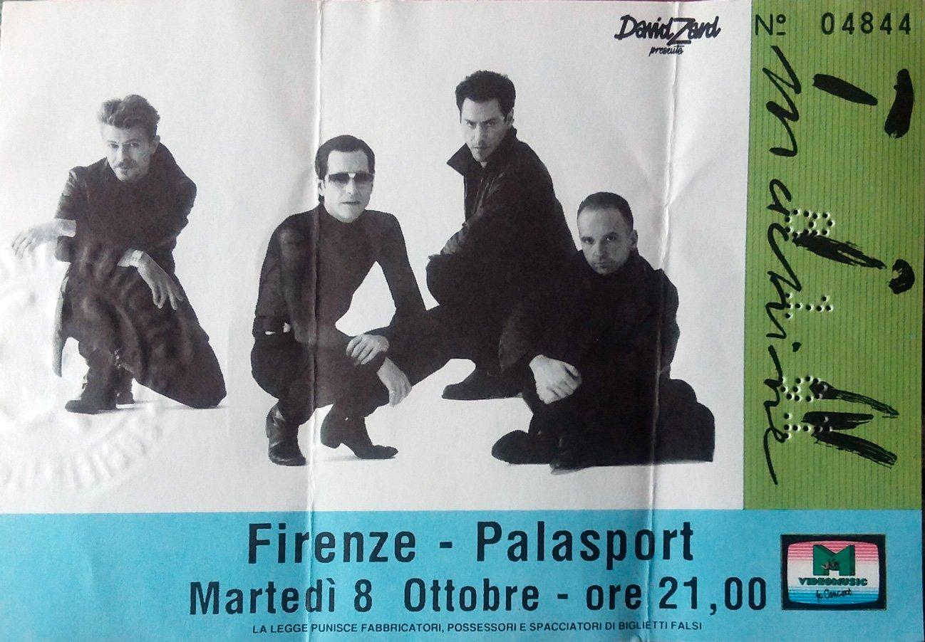 Tin-Machine-Firenze-8-ottobre-1991-Biglietto