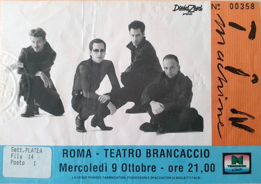 Tin Machine - It's My Life Tour - Roma, 9 Ottobre 1991 1