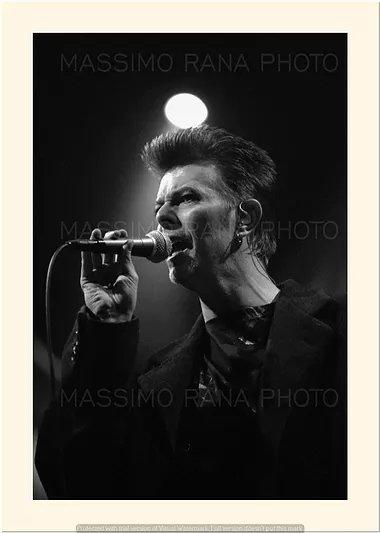 David Bowie Outside Tour Milano 8 Febbraio 1996 Foto Massimo Rana