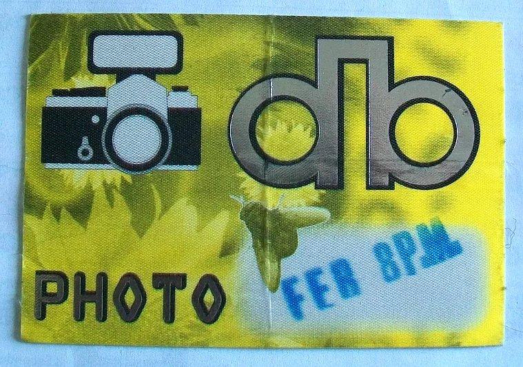 David Bowie Outside Tour Milano 8 Febbraio 1996 Foto Pass