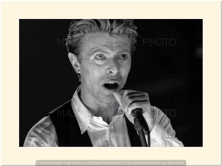 David Bowie Sound and Vision Tour Milano 14 Aprile 1990 Foto Massimo Rana 1
