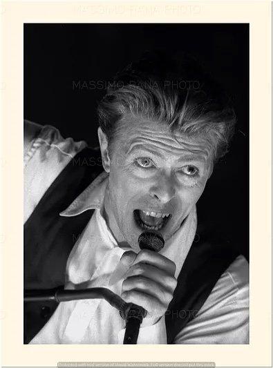 David Bowie Sound and Vision Tour Milano 14 Aprile 1990 Foto Massimo Rana 2