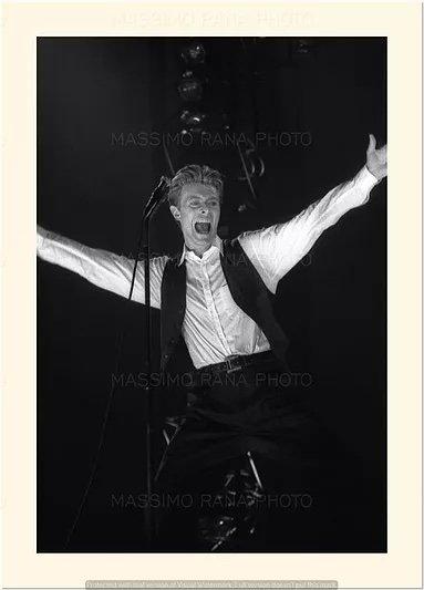 David Bowie Sound and Vision Tour Milano 14 Aprile 1990 Foto Massimo Rana 3